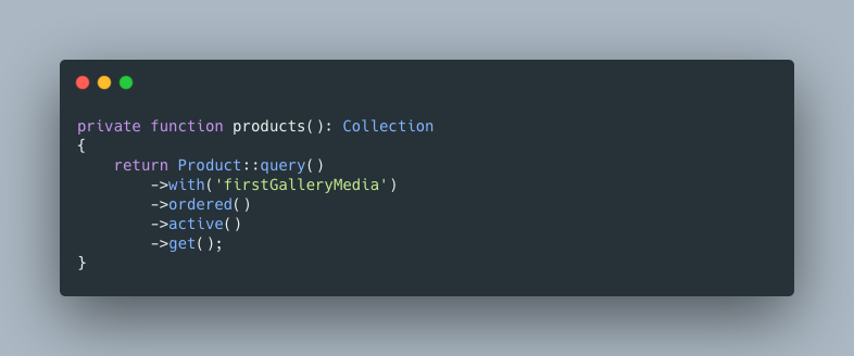 Laravel Media Library: Load Only 1st Picture Efficiently